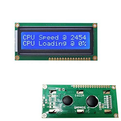 Preisvergleich Produktbild Alextry ESUMIC LCD Module für Arduino UNO R3 MEGA2560 16x2 1602 Weiß auf Blau