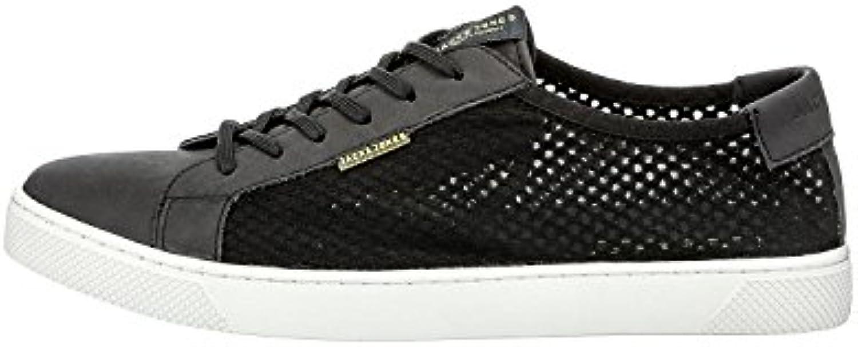 JJSABLE MESH SNEAKER ANTHRACITE (42)  Zapatos de moda en línea Obtenga el mejor descuento de venta caliente-Descuento más grande