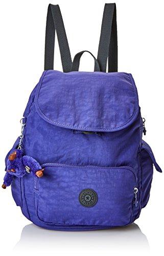 Kipling Damen City Pack S Rucksack, Violett (Summer Purple), 27 x 33.5 x 19 cm