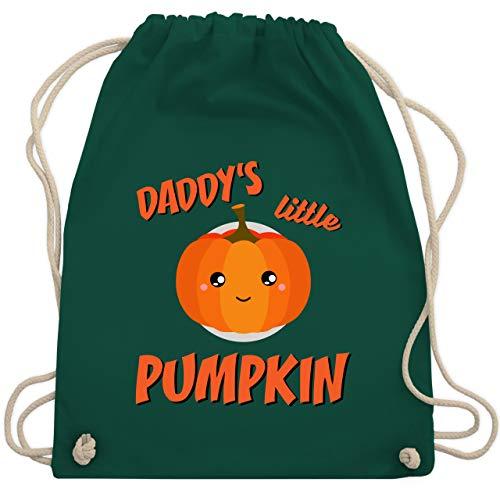 Anlässe Kinder - Daddys little Pumpkin Halloween - Unisize - Dunkelgrün - WM110 - Turnbeutel & Gym Bag (Kid, Ideen Halloween-kostüm Gruppe)