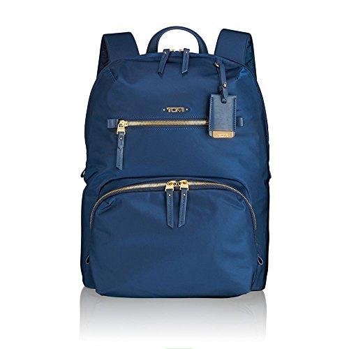 """Tumi Voyageur - Halle Laptop Backpack 12"""" Zaino Casual, 36 cm, 14.91 liters, Blu (Ocean Blue)"""