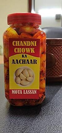 Chandni Chowk Ka Aachaar - Mota Lassan (Garlic Pickle) 500 Grams