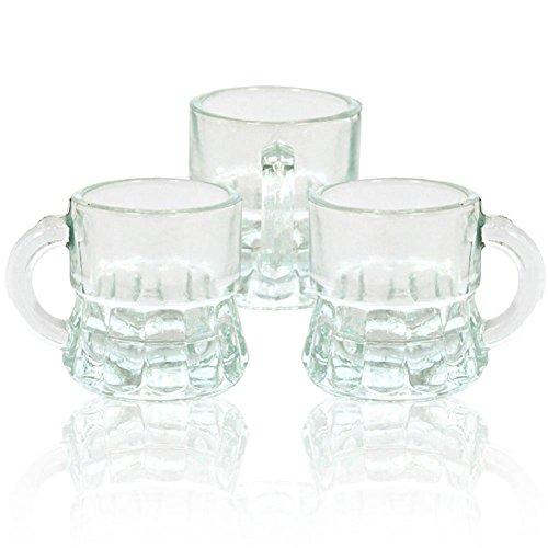 24 x Schnapsgläser Schnapskrüge Stamper Glas Trinkgläser Schnapsglas Humpen