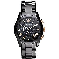 Emporio Armani AR1410 Ceremica Mens Watch (Black)