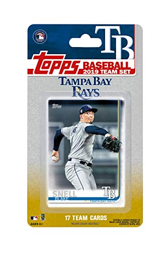 Tampa Bay Rays 2019 Topps Factory Sealed Special Edition 17 Karten Team Set mit Kevin Kiermaier und Blake Snell Plus - Topps Baseball-karten