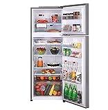 LG 335 L 4 Star Inverter Frost-Free Double-Door Refrigerator (GL-R372JPZN, Shiny Steel)