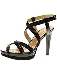 NERO GIARDINI scarpe donna sandalo P717871DE 100 064c726e3a5