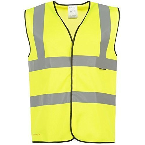 Dunlop Hi Vis Weste, Junior (Fitted Tank-top Junior)