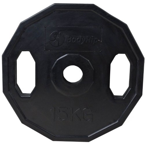BodyRip-Polygonal-Olympic-Weight-Plate-Black-1-x-15-kg