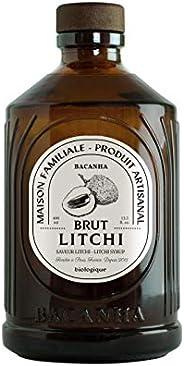 Bacanha -Sirop de Litchi - Sirop Brut Bio 400ml