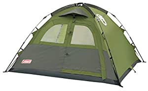 Coleman Instant 3 Dome Tent - Green, Three Person