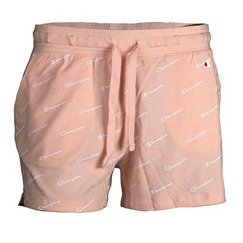 Champion Damen Shorts (Champion Legacy Damen Shorts Logo orange S)
