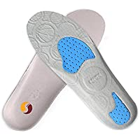 Summens Sport Einlegesohlen, Stoßdämpfende Sporteinlage Fersensporn Innensohle Laufkomfort Schuh-Einlage Schuh-Einlegesohlen... preisvergleich bei billige-tabletten.eu