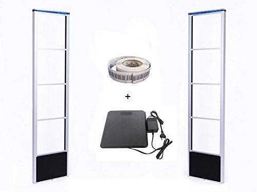 1-Komplett-Set-RF-DSP-Warensicherungssystem-mit-Klebeetiketten-und-Deaktivator