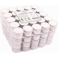 Pajoma Teelichte unbeduftet 100 Stück, Brenndauer: 8 Std.