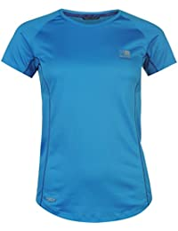 Karrimor Womens X Racer Running T Shirt Tee Top Breathable Lightweight