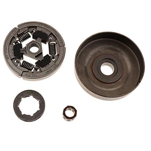 B Baosity 3/8Zoll 7Z Kettenrad Kettenantrieb Kupplungstrommel + Nadellager für Stihl 036 MS360 034