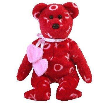 TY Beanie Baby-KISS KISS der Bär (Beanie Baby Ty Bär)