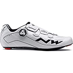 NORTHWAVE Chaussures velo route homme FLASH blanc/noir