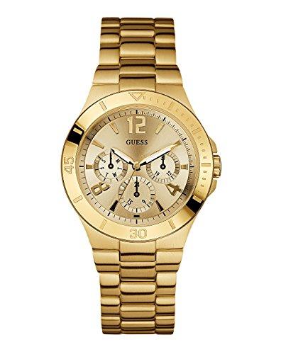 Guess Vespa W13545L1 – Reloj de mujer de cuarzo, correa de acero inoxidable color oro