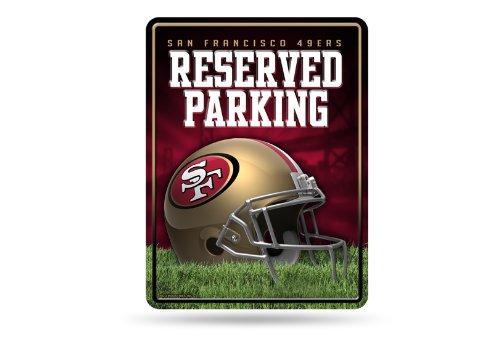 Rico Industries NFL SAN Francisco 49ERS Parking Sign Schild