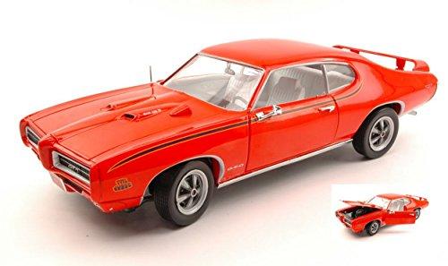 auto-world-amm1058-pontiac-gto-judge-1969-orange-118-modellino-die-cast-model