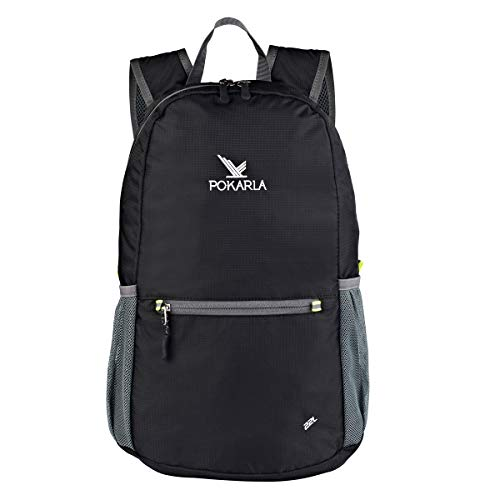 15963ccda10d Pokarla 22L Durable UltraLight Packable Backpack Foldable Water Resistant  Student Hiking Daypack Kids Small Backpack Outdoor