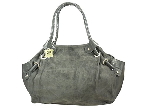 Chaussmaro, Borsa a mano donna grigio grigio grigio