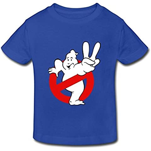 Age 2-6 Kids Toddler Ghostbusters Slimer Logo Little Boys And Girls T Shirt