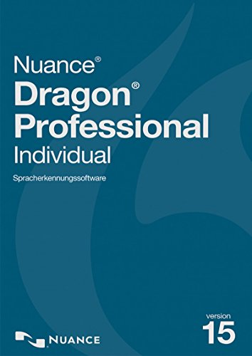Nuance Dragon Professional Individual 15 - Upgrade von Premium 12 oder höher [PC Download]- Unsupported by Manufacturer