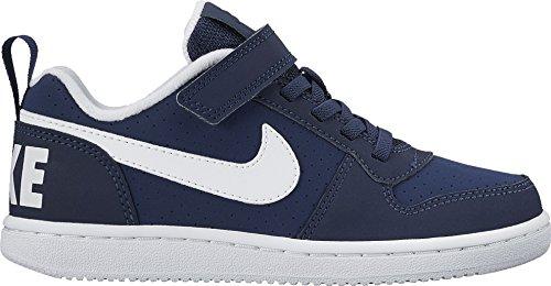 Nike 870025 400 Sneakers Garçon Cuir Synthetique Bleu Blu bianco