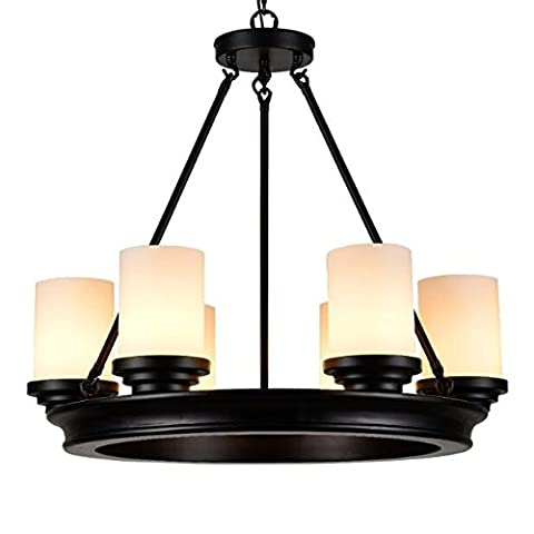 BBSLT Bougeoirs retro lampe de style Chinois (60cm), Stupide black