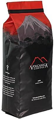 Costa Rica Coffee Beans, Tarrazu Original, Whole Bean, Medium Roast, Fair Trade, Fresh Roasted, 453 g from Volcanica Coffee