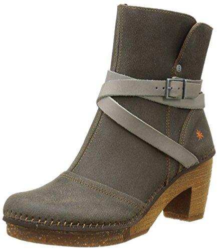 ArtAmsterdam 343 - Stivali classici alla caviglia Donna , Grigio (Gris (Plumb)), 39