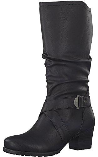 Tamaris Damenschuhe 1-1-25018-29 Damen Stiefel, Boots, Damen Stiefeletten, Herbstschuhe & Winterschuhe für Modebewusste Frau Schwarz (Black), EU 40