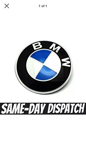 repuesto-bmw-e46-e60-e61-e81-e90-e91-e92-x5-m3-bonnet-boot-badge-emblem-74-mm