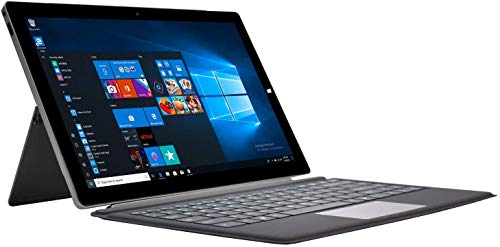 2in1 Notebook Laptop Windows-10 Touch - Winnovo S133 Intel Celeron 4GB RAM+32GB eMMC 13.3 Zoll FHD IPS Touchscreen USB Type-C Abnehmbare Tastatur Snterstützung SSD Erweiterung (Silber)