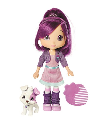 The Bridge Direct Strawberry Shortcake Berry Best Friend Plum Pudding With Pitterpatch Fashion Doll, 6-Inch by The Bridge Direct