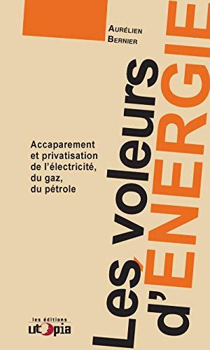 Les voleurs d'énergie: Accaparement et privatisation de l'éléctricité, du gaz, du pétrole (Ruptures)