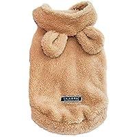 c12b94361fab9 ALIKEEY Natale Caldo Vestiti da Compagnia Cucciolo di Gatto Domestico  Vestiti di Cotone Invernale Caldo Moda