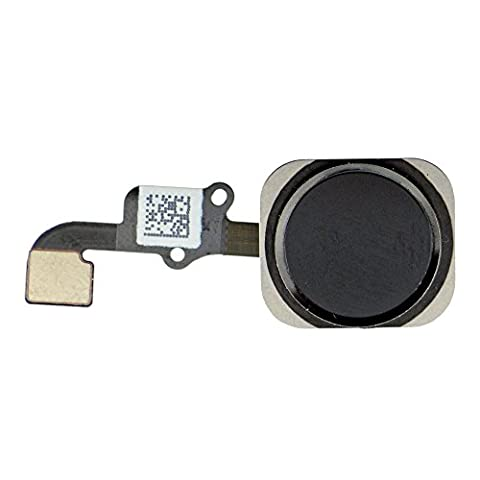 GG MALL Home Button Key Flex Cable Ribbon Assembly Replacement for iPhone 6 / 6 Plus (Black)