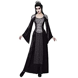 WIDMANN 07704Adultos Disfraz Reina Oscuros, XL