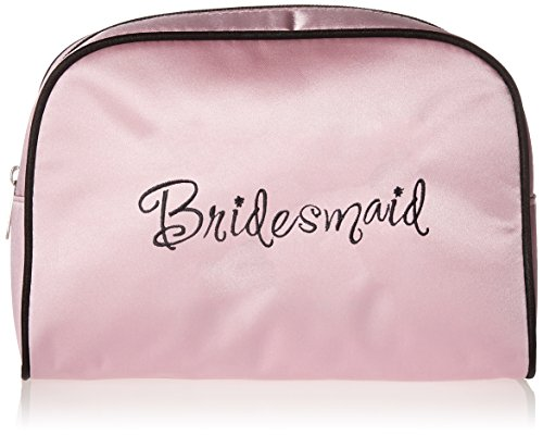 Lillian Rose 9-Inch by 6.5-Inch Bridesmaid Travel Bag, Medium, Pink
