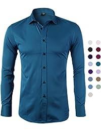 Amazon.es  Turquesa - Camisas   Camisetas 0dfb07d20146e