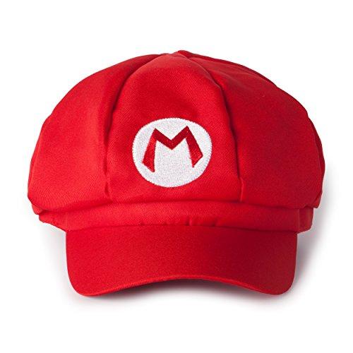 Imagen de katara  gorra para disfraz de super mario bros para niños y adulto, color rojo alternativa