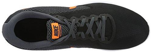 Nike 819300-003 Herren Trail Runnins Sneakers Mehrfarbig (Black/Total Orange-Dark Grey-turf Orange)