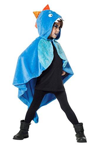 (Jannes - Kinder-Kostüm Drache, Blau, Kleinkinder 98)
