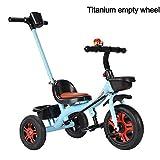 DUANYR-Baby Walker Tricycle pour Enfants, Roue en Mousse à Trois Roues, siège...