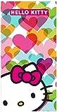 Hello Kitty Badetuch/Strandtuch aus Microfaser Gr. 140 x 70 cm Größe One Size