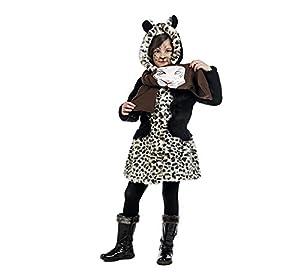 Limit Sport - Disfraz de abrigo y bufanda leopardo para niños, talla 3 (MI941)